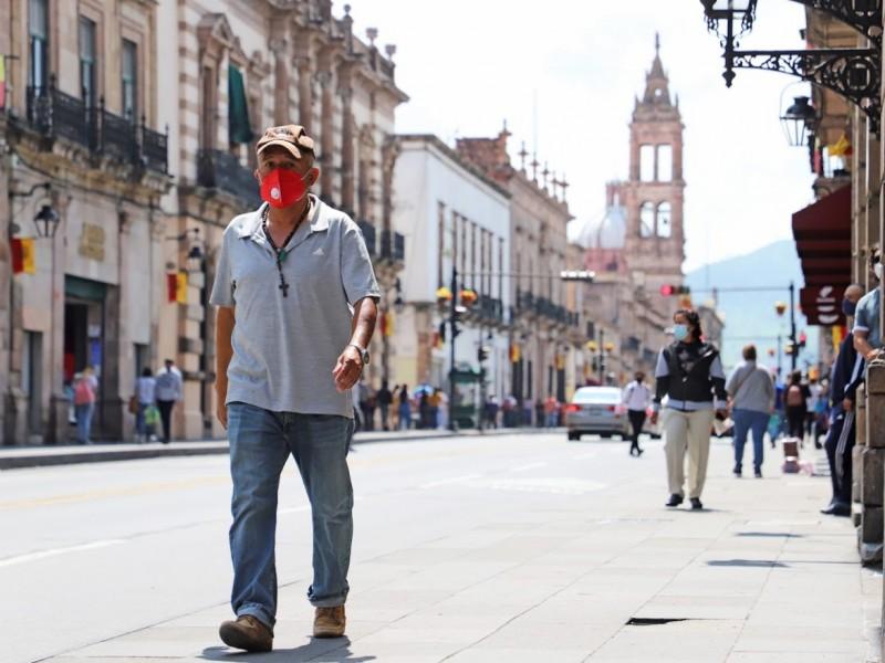 Más de 500 contagios de COVID-19, este sábado en Michoacán