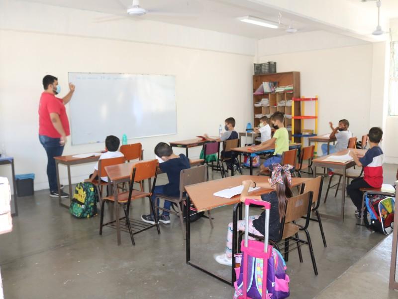 Más de 6,000 alumnos tomaron clases presenciales en 190 planteles