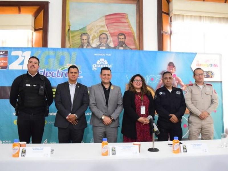 Más de 700 elementos de seguridad resguardarán el 21K Guadalajara