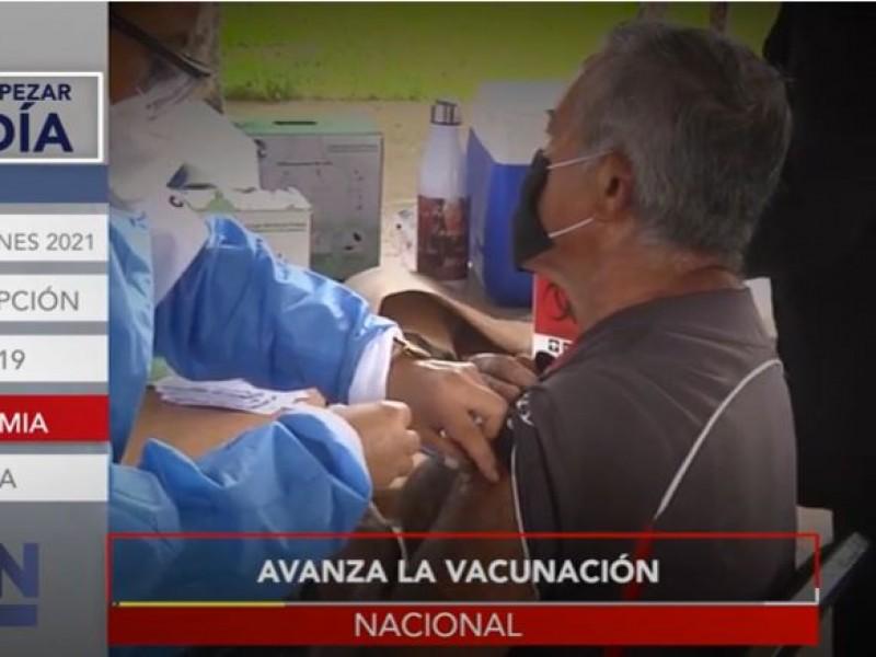 Más de 8 millones de vacunas ya fueron aplicadas