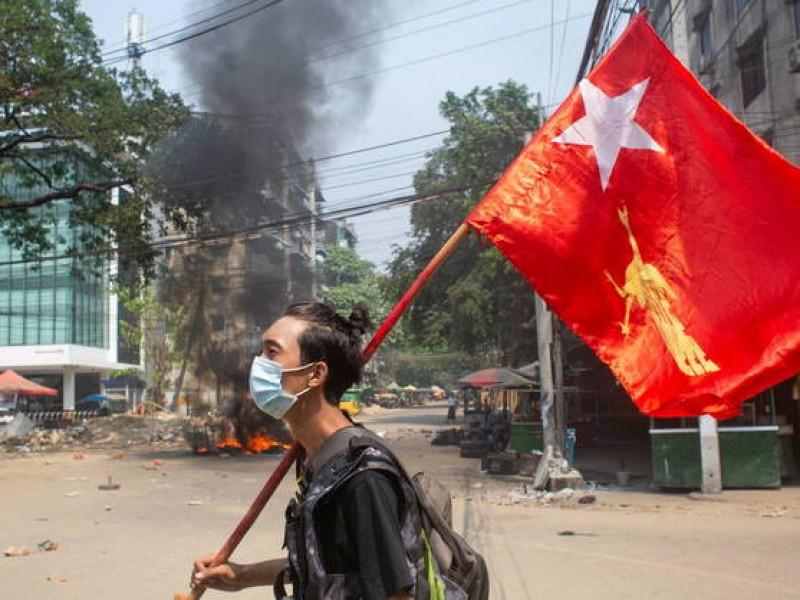 Más de 90 muertos en Myanmar tras protestas