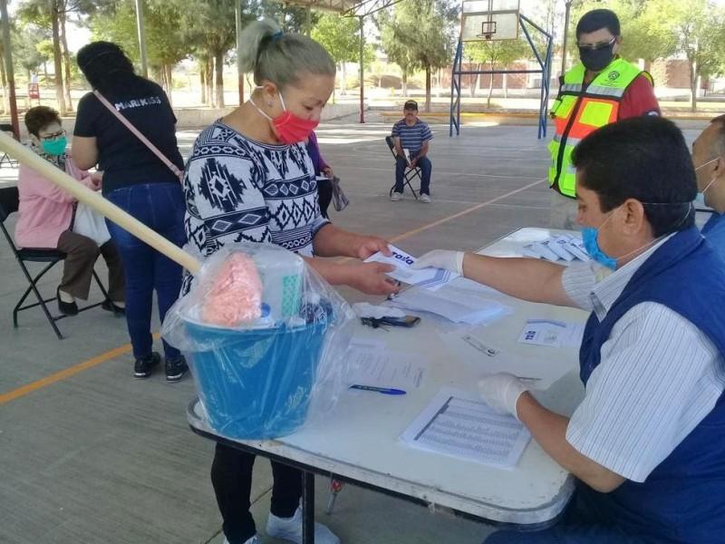 Más de 92mil apoyos emergentes entregados por pandemia en Zacatecas
