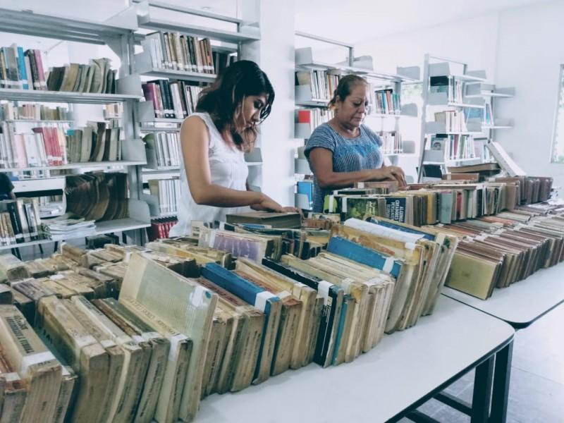 Más de mil libros serán reciclados