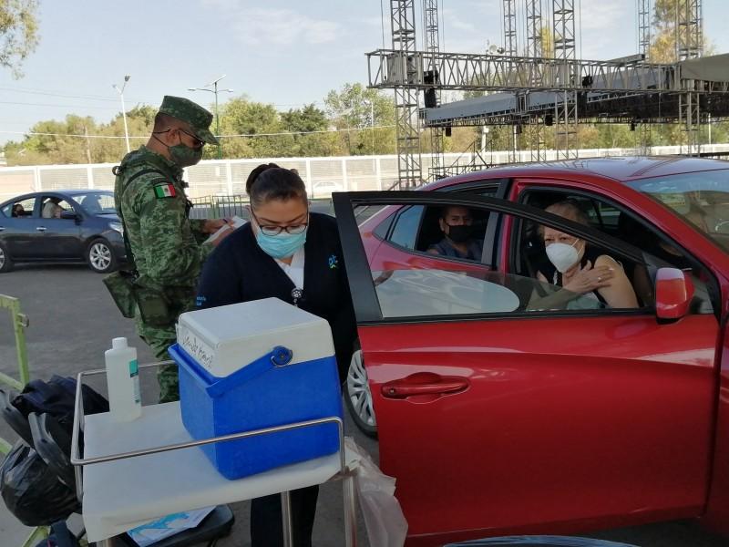 Más del 80% de adultos mayores vacunados en León
