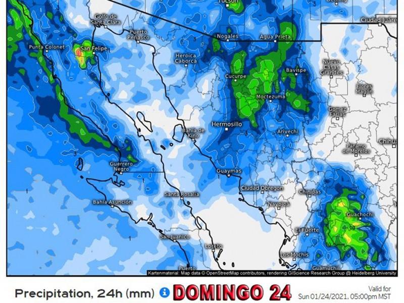 Más frío para Sonora, se esperan nevadas