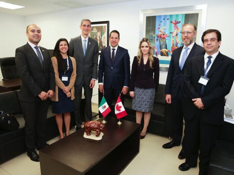 Más inversión canadiense a Querétaro