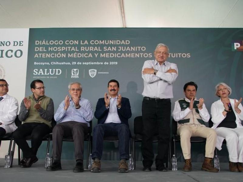 Más programas sociales a zona Tarahumara