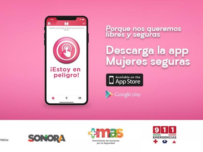 Más sonoreses saben sobre la app mujeres seguras