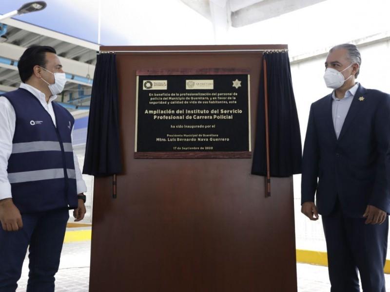 Más tecnología e infraestructura para seguridad; alcalde Querétaro
