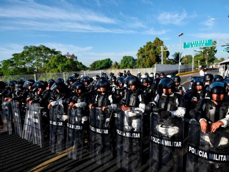 México desplegará 10 mil soldados en la frontera con EU
