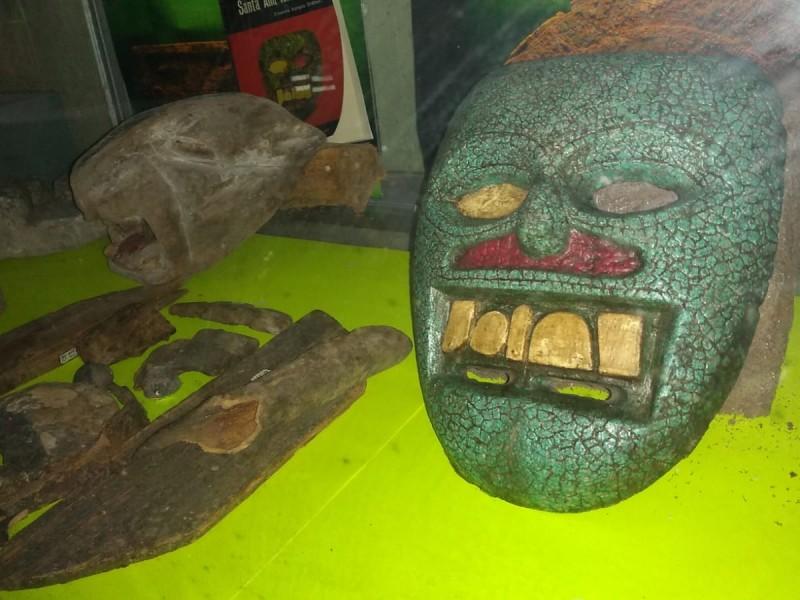 Máscaras arqueológicas de Santa Ana Teloxtoc serán devueltas a Tehuacán