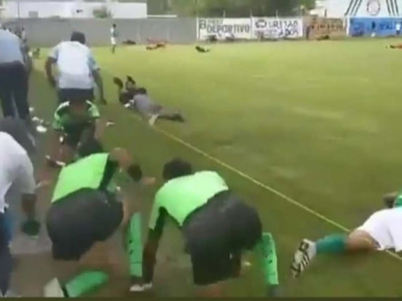 Matan a 3 en partido de fútbol en Guanajuato
