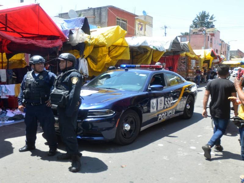Matan a sujeto y otros detenidos en Tepito