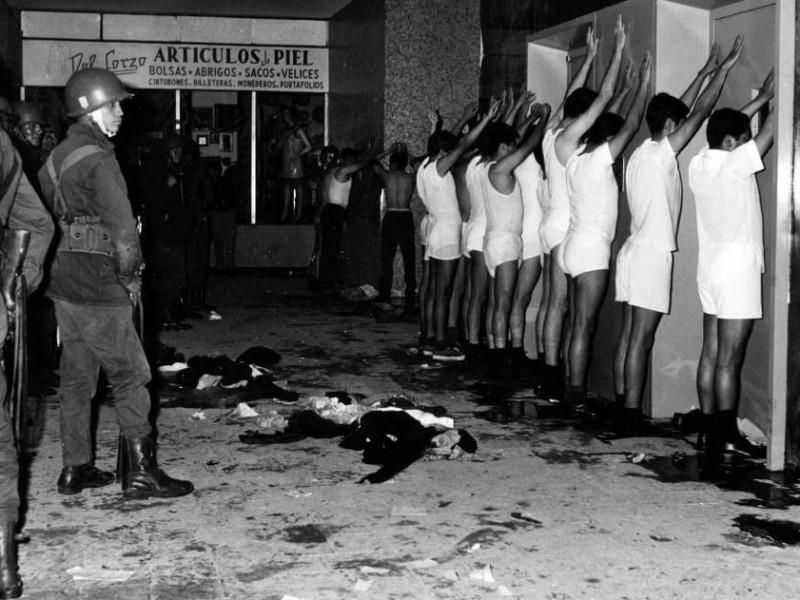 📹Matanza del 68; dispararon a quema ropa