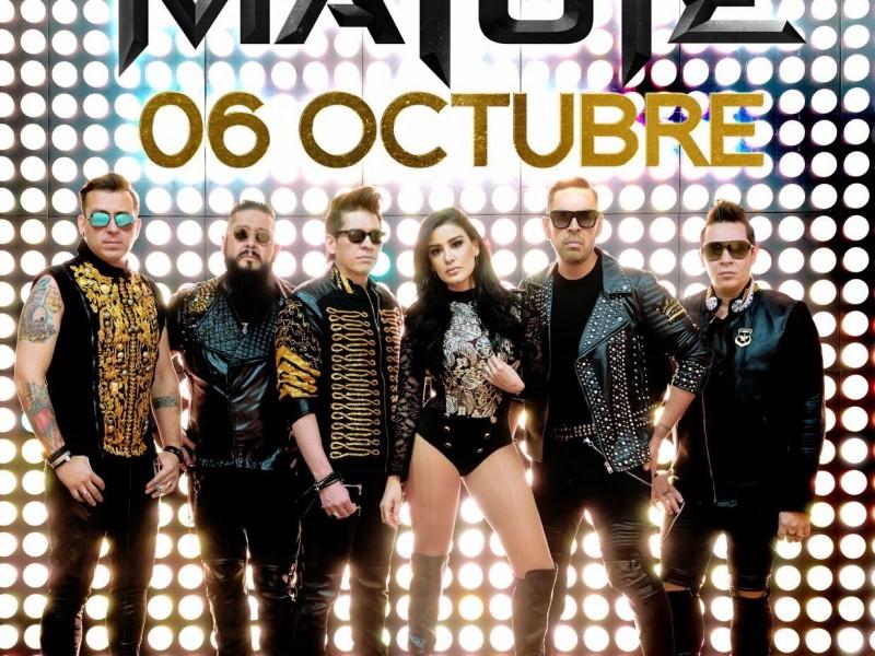 MATUTE, felices de regresar a cantar a Puebla