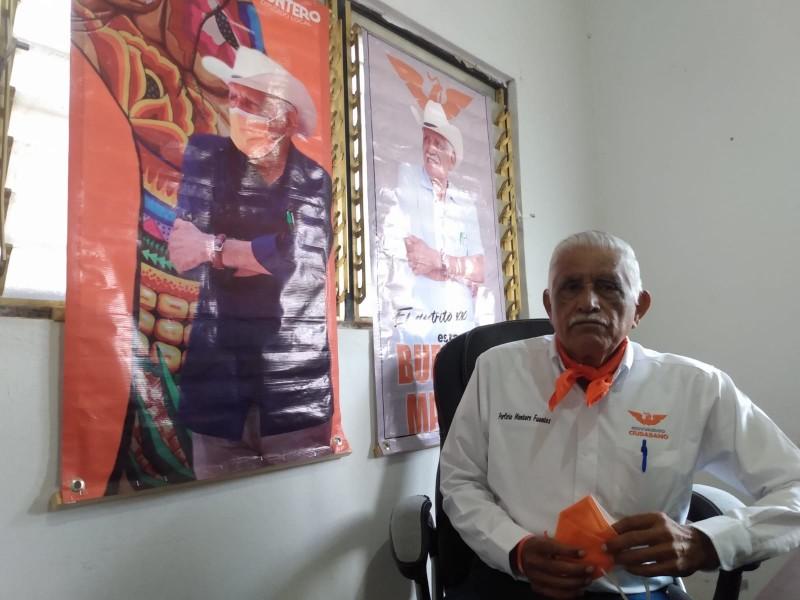Mayor seguridad para el istmo, propone Porfirio Montero Fuentes