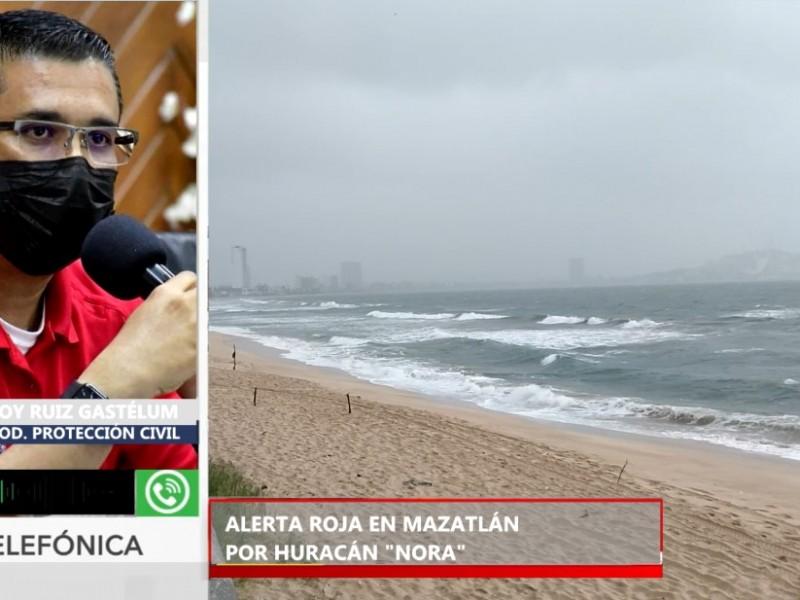 """Mazatlán entra a """"Fase Roja"""" ante la cercanía de"""