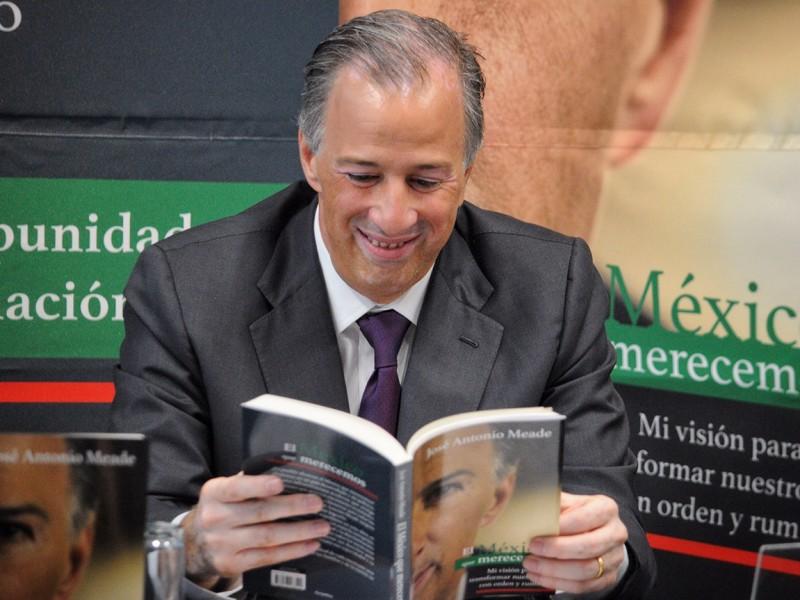 Meade presenta su libro