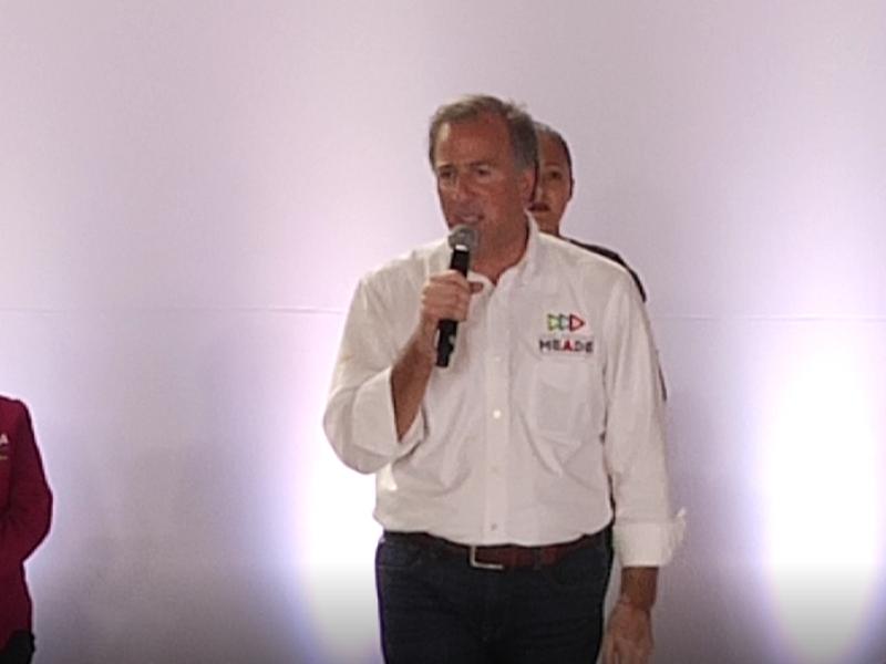 Meade realiza cierre de campaña en Puebla