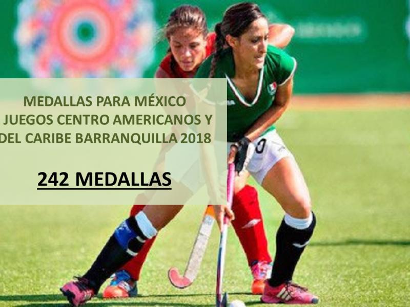 Medallas Mexicanas Juegos Centroamericanos y del Caribe Barranquilla