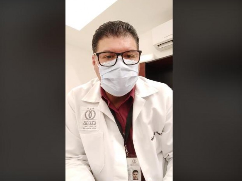 Médico navojoense lanza reto en redes sociales para reducir contagios