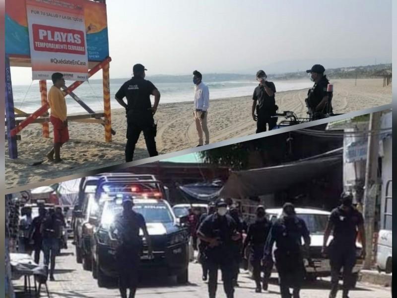Medidas drásticas por rebrote en municipios costeros de Oaxaca, Covid-19