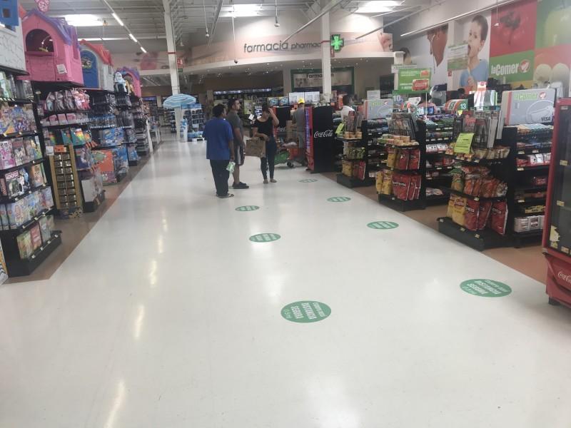 Medidas preventivas para ir al supermercado en contingencia