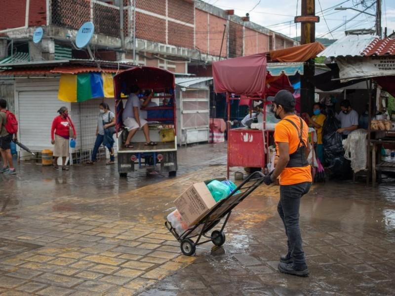 Medidas restrictivas impacta a comerciantes locales de Tehuantepec