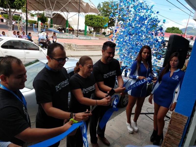 Megacable abre sucursal en Cintalapa