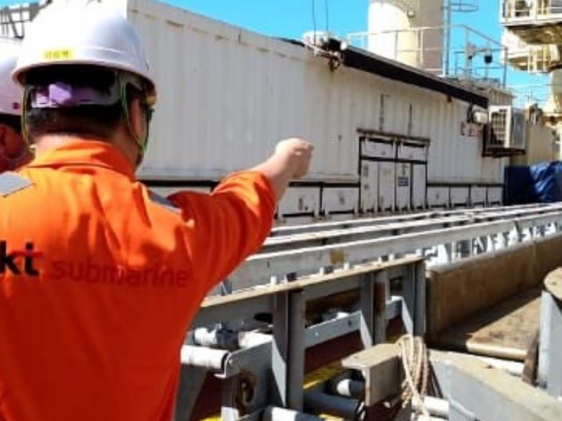 📹Megacable inicia despliegue de cable submarino