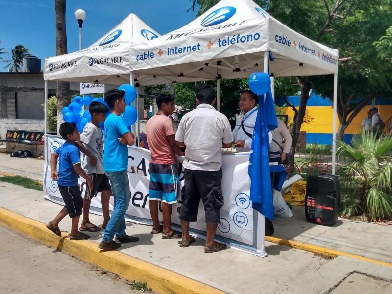 MEGACABLE llega a La Ventosa, Juchitán