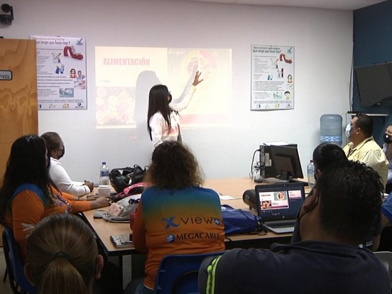 Megacable ofrece pláticas sobre el cuidado de salud a trabajadores