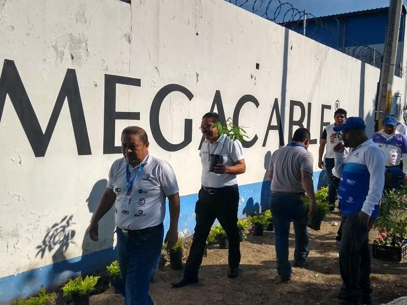 Megacable Sistema Tuxtla en pro del medio ambiente