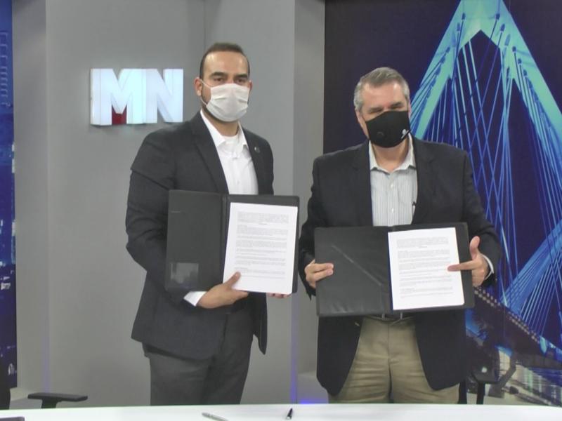 MEGANOTICIAS e ITESO firman convenio para estudios de opinión