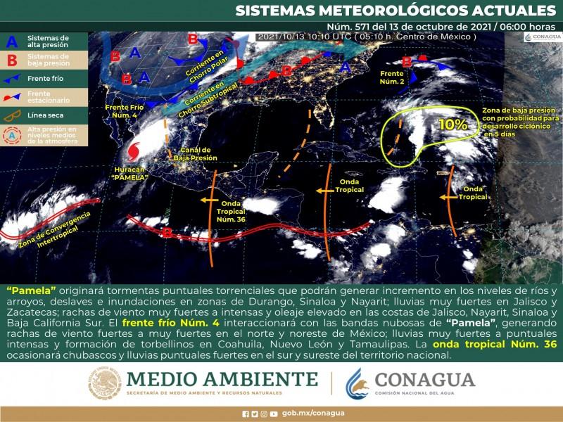 Mejora clima en Sonora con temperaturas templadas