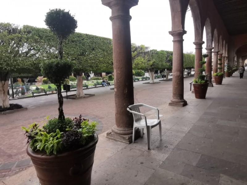Mejoran imagen urbana en centro histórico La Piedad