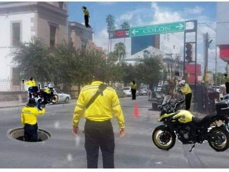 Memes y organismo coinciden; hay muchos tránsitos en Torreón