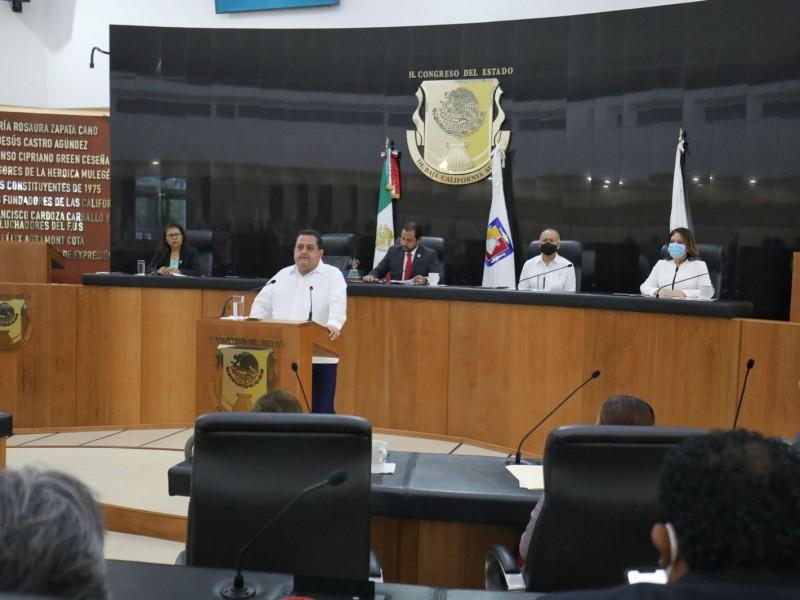 Mendoza Davis rindió su sexto y último informe de gobierno