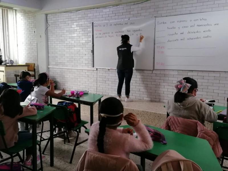 Menores que no estén estudiando podrán regresar a las aulas