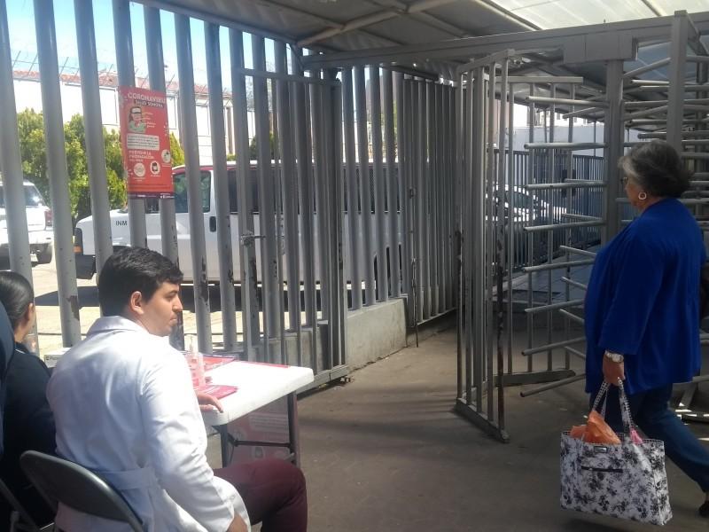 Meramente informativa presencia de Secretaría de Salud en la frontera