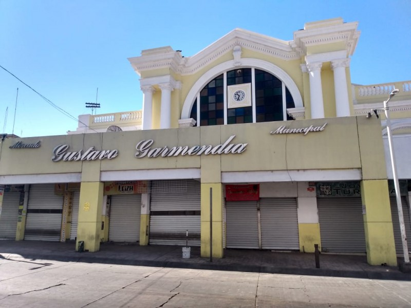 Mercado Garmendia continúa cerrado hasta nuevo aviso