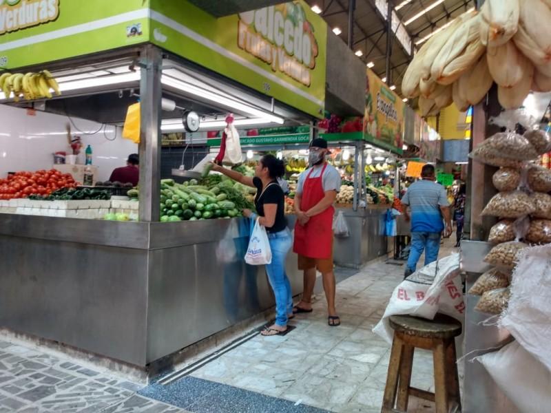 Mercado Garmendia opera con normalidad