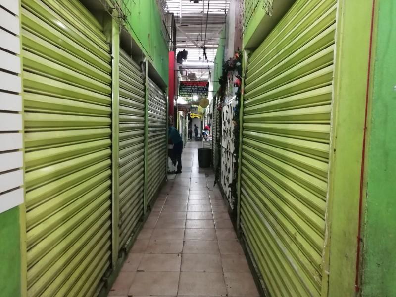 Mercados en centro de Tuxtla, agonizan ante bajas ventas