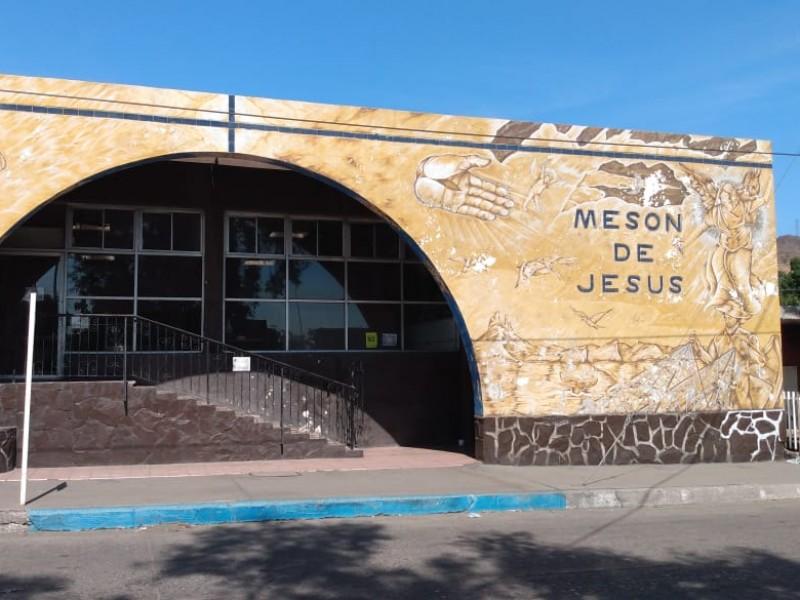 Mesón de Jesús  detecta reducción de migrantes