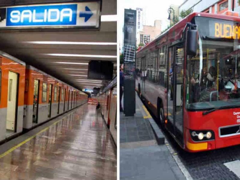 Metro y Metrobús darán servicio gratuito por elecciones