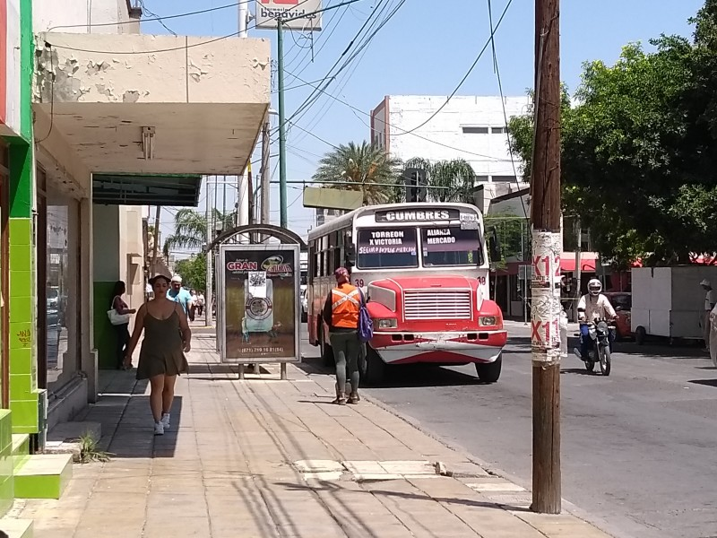Metrobús en Laguna de Durango sigue en espera