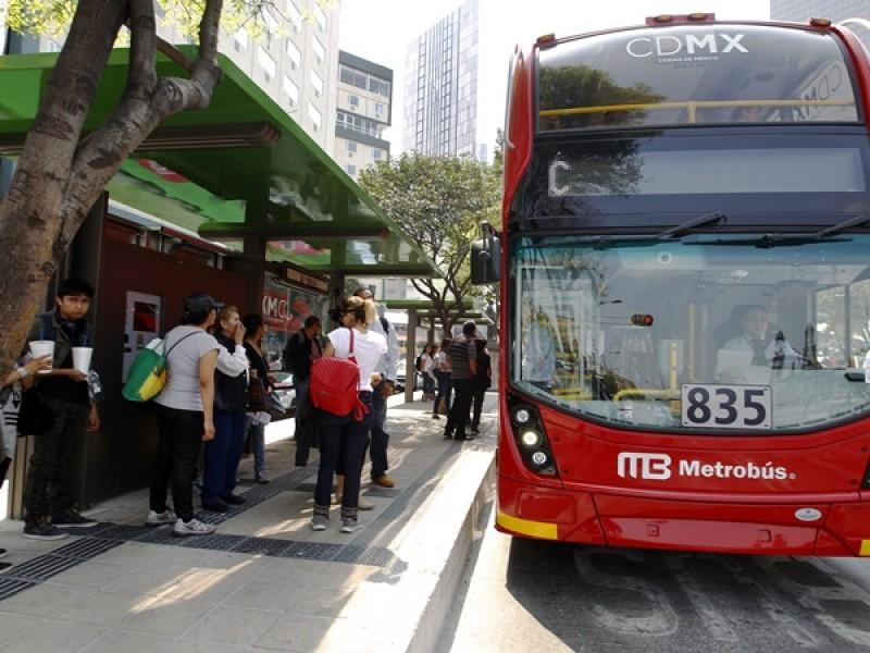 Metrobús ofrece servicio gratuito en jornada electoral