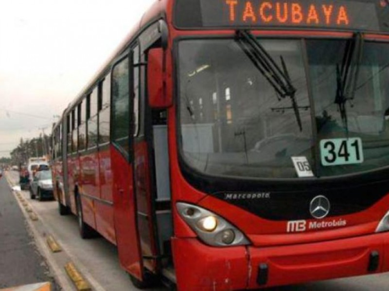 Metrobús realiza circuitos en líneas 2 y 4
