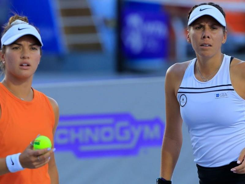 Mexicana busca final de dobles en el Abierto de Zapopan