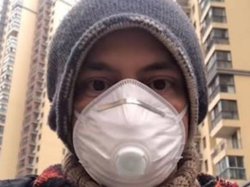 Mexicano atrapado en el epicentro del Coronavirus
